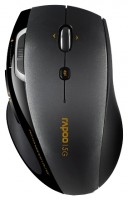 Rapoo Wireless Laser Mouse 7800P Black USB