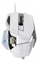 Mad Catz R.A.T.5 2013 Gaming Mouse Gloss White USB