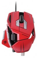 Mad Catz M.M.O. 7 Gaming Mouse Gloss Red USB
