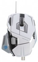 Mad Catz M.M.O. 7 Gaming Mouse Gloss White USB