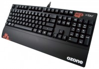Ozone Strike (Cherry MX Black) Black USB+PS/2