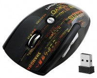 CROWN CMM-911W english character Black USB