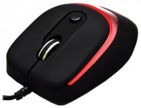 DeTech DE-5011G 4D Mouse Black-Red USB