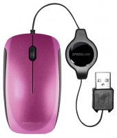SPEEDLINK MINNIT Mobile Mouse Flexcable Berry Blue USB