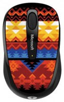 Microsoft Wireless Mobile Mouse 3500 Artist Edition Koivo Black-Orange USB
