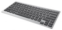 Trust Entea Universal Wireless Keyboard for tablets&laptops Silver Bluetooth