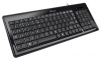 Trust Gracia Compact Slimline Keyboard Black USB