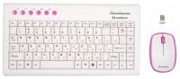 Mediana KM-313 White-Pink USB