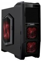 FOX 9901-2 w/o PSU Black/red