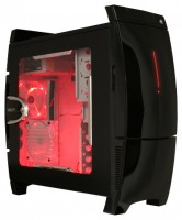 NZXT LEXA BLACKLINE Black/red