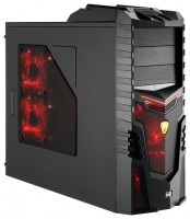 AeroCool X-Warrior Devil Red Edition Black