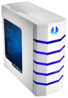 BitFenix Colossus Window White/blue