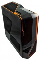 NZXT Phantom Black/orange (USB 3.0)