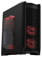 FOX 9902-3 w/o PSU Black/red