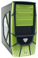 Chenbro PC61165 300W Black/green