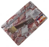 Эврика КРЕДИТКА PLATINUM CREDIT CARD РУБЛИ