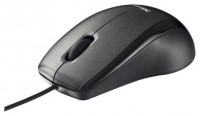 Trust Carve Optical Mouse Black USB