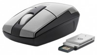 Trust Primo Wireless Mouse Silver-Black USB