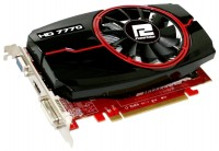 PowerColor Radeon HD 7770 1000Mhz PCI-E 3.0 1024Mb 4500Mhz 128 bit DVI HDMI HDCP VGA