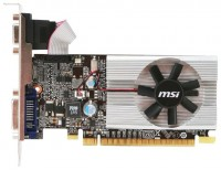 MSI GeForce 210 589Mhz PCI-E 2.0 1024Mb 1000Mhz 64 bit DVI HDMI HDCP