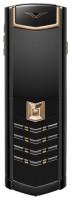 Vertu Signature S Design Red Gold Black DLC