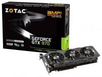 ZOTAC GeForce GTX 970 1152Mhz PCI-E 3.0 4096Mb 7010Mhz 256 bit DVI HDMI HDCP