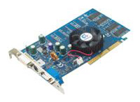 GIGABYTE GeForce FX 5200 250Mhz AGP 128Mb 400Mhz 64 bit DVI TV