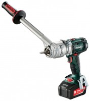 Metabo BS 18 LTX-X3 Quick 4.0Ah x2 Case
