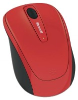 Microsoft Wireless Mobile Mouse 3500 Limited Edition Flame Red USB