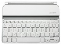 Logitech Ultrathin Keyboard Cover 920-005122 White Bluetooth