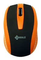 Kreolz WMS 121 Black-Orange USB