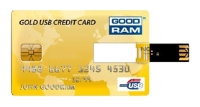 GoodRAM GOODDRIVE Gold USB Credit Card 32Gb