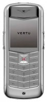 Vertu Constellation Exotic polished stainless steel dark pink karung skin