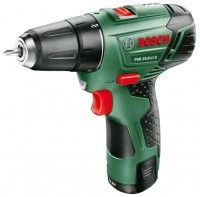 Bosch PSR 10,8 LI-2 1.5Ah x2 Case PLI