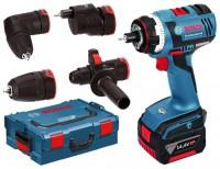 Bosch GSR 14,4 V-EC FC2 4.0Ah x2 L-BOXX Set