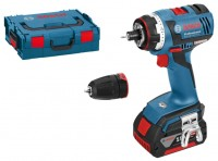 Bosch GSR 18 V-EC FC2 4.0Ah x2 L-BOXX