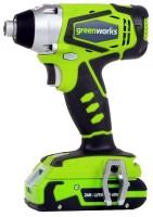 Greenworks G24ID 2.0Ah x2