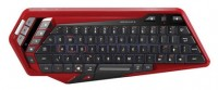 Mad Catz S.T.R.I.K.E. M Wireless Keyboard Black-Red Bluetooth