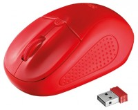 Trust Primo Wireless Mouse Red USB