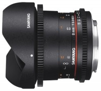 Samyang 8mm T3.8 AS IF UMC Fish-eye CS II VDSLR Four Thirds