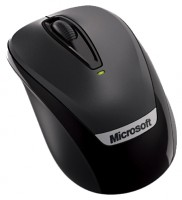 Microsoft Wireless Mobile Mouse 3000 with Nano Black USB