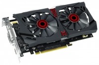 ASUS GeForce GTX 950 1140Mhz PCI-E 3.0 2048Mb 6610Mhz 128 bit 2xDVI HDMI HDCP