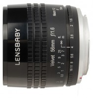 Lensbaby Velvet 56mm Micro Four Thirds