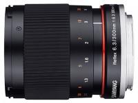 Samyang 300mm f/6.3 ED UMC CS Reflex Mirror Lens Canon EF