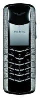 Vertu Signature M Design White Gold Pave Diamonds
