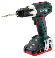 Metabo BS 18 LT 3.1Ah x2 Case
