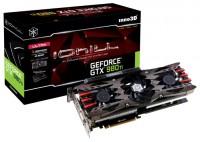 Inno3D GeForce GTX 980 Ti 1152Mhz PCI-E 3.0 6144Mb 7200Mhz 384 bit DVI HDMI HDCP X4 Ultra