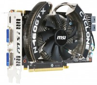 MSI GeForce GTX 460 725Mhz PCI-E 2.0 768Mb 3600Mhz 192 bit 2xDVI Mini-HDMI HDCP Cyclone