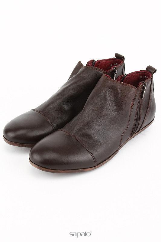 Ботинки DELANO Ботинки коричневые