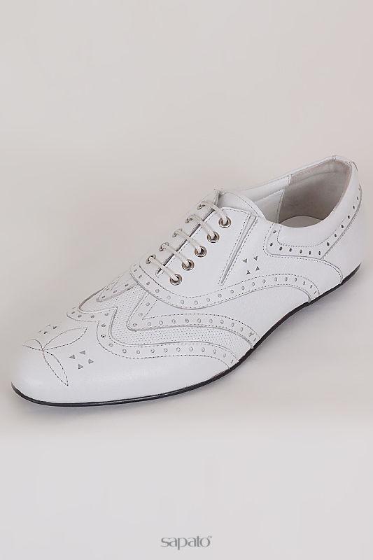 Туфли Giovanni Ciccioli Спортивно-классические туфли белые